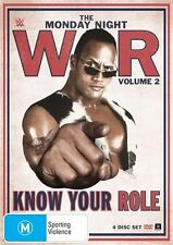 K6 WWE - Monday Night War - Know Your Role : Vol 2 (DVD, 2015, 3-Disc Set)