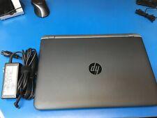 "HP Probook 450 G3 15"" i5-6200U 2.3GHz 8GB 256GB SSD win10pro - WORKS GREAT!"