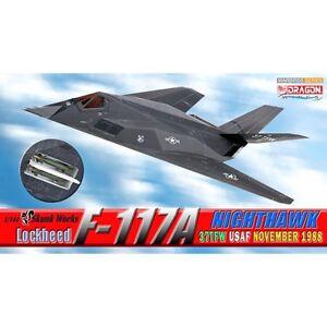 Dragon Warbirds 1/144 Lockheed F-117A Nighthawk USAF Stealth Fighter Aircraft