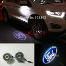 2x LED Side Rear Mirror Door Ghost Shadow Welcome Light Ford Mondeo Fusion Edge