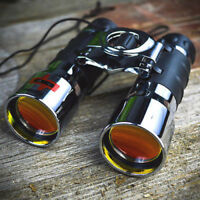16X42 Ruby Lenses Chrome Compact Binoculars Outdoors Camping Hunting Zoom Scope