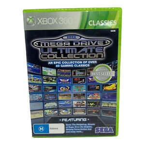 Sega Mega Drive Ultimate Collection for Xbox 360 - Complete - Tested & Working