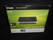 D-Link - Ethernet Broadband Router, Wired, Model Ebr-2310