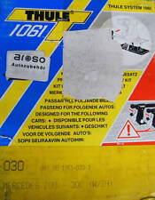 Thule Kit 030 Befestigungssatz für Dachträger Mercedes Benz W124 DB Gepäckträger