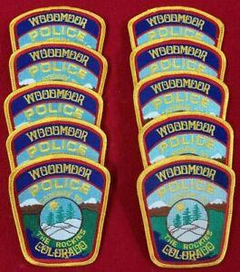 FIRESTONE COLORADO CO Community in Motion POLICE PATCH