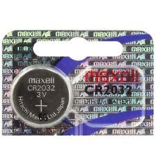 30 x Piles CR 2032 Original Lithium blister MAXELL Cr2032 Jusqu'à 2020