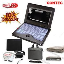 Laptop digitale portatile del monitor ecografo 3.5MHZ convex scanner,CE,garanzia
