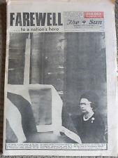 HISTORICAL NEWSPAPER Herald-Sun Farewell to a nation's hero Mountbatten 6-9-1979