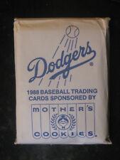 1988 Mother's Cookies Los Angeles Dodgers Team Set (28) w/Kirk Gibson NICE