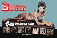 David Bowie * Diamond Dogs * Promotional Ad Poster 1974 13x19