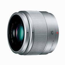 New Panasonic Lumix G 25mm f/1.7 ASPH. Lens - SILVER [H-H025]