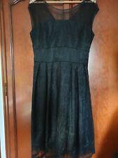 Vestido de encaje mujeres negro por Lindy Bop Talla 16
