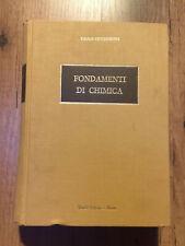 Fondamenti di chimica settima edizione 1984 - Paolo Silvestroni - Veschi Editore