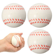 """2.5""""Baseball Hand Wrist Exercise Stress Relief Relaxation Squeeze Soft Foam Ball"""