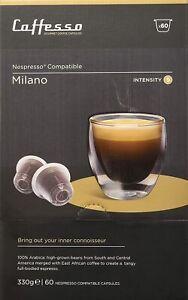 new  caffesso 50 MILANO coffee capsule