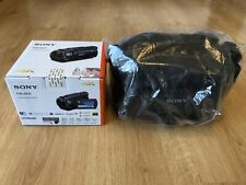 Sony FDR-AX33 4K Ultra HD Handycam Camcorder Video Camera With CarryCase LCS-U21