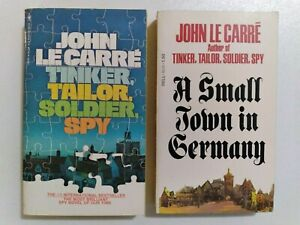 JOHN LE CARRE TINKER, TAILOR, SOLDIER, SPY/A SMALL TOWN IN GERMANY