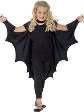 Smiffys Kids Unisex Vampire Bat Costume Wings Black One Size 44414