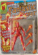 Human Torch / Torche Humaine - Fantastic Four / Quatre Fantastiques  - Toy Biz