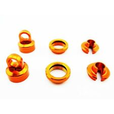 Hot Racing WRA15603 Axial Yeti Wraith AX10 EXO 10mm Shock Upgrade Kit (Orange)