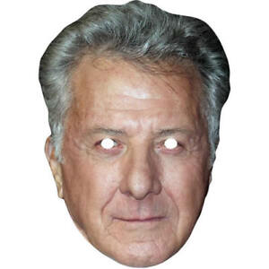 Dustin Hoffman Celebrity Actor Card Mask - All Our Masks Are Pre-Cut!