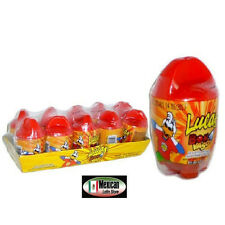 Lucas Bomvaso spicy candy with a gum 10-pcs box 10-oz  Mexican candy