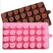 New Arrival Sugarcraft Silicone Emoji Expression Mold Cake Chocolate Decorating