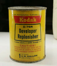 Kodak D-76R Developer Replenisher to make 1 Gallon- Vintage - Sealed Can - P12