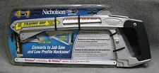 Nicholson pro series 4 saws in one with fold away grip