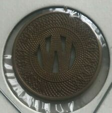 Johnstown Pennsylvania PA Westmont Borough Inclined Plane Transportation Token