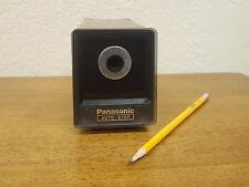 Vintage Panasonic KP-77 Auto Stop Electric Pencil Sharpener Suction Feet Japan