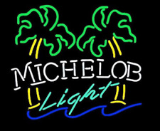 Light Neon Signs Gift Michelob Beer Bar Pub Store Room Wall Window Display 19x15