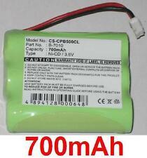 Batería 700mAh Para Siemens 240, 242, CS240, CS242 tipo B-7010