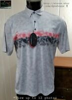 NEW Greg Norman ML75 -Charley Hoffman Waste Management- Golf Tour Polo Shirt M