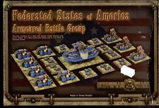 SPARTAN GAMES DYSTOPIAN WARS ARMOURED BATTLE GROUP  STATES OF AMERICA  BOX