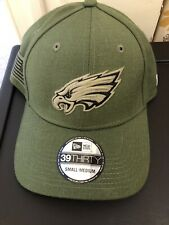 NEW Philadelphia Eagles NFL Salute to Service 39THIRTY NEW ERA Cap Hat - S/M