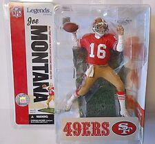 NEW Joe Montana Red Jersey MCFARLANE NFL SF 49ers Figure Figurine Macfarlane HOF