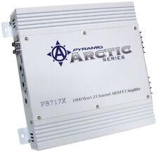 NEW PYRAMID ARCTIC PB717X 2 CHANNEL 1000 WATT CAR AUDIO AMPLIFIER 2CH 1000W AMP