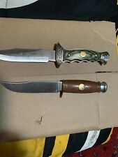 Fixed Blade Knives 2 Of Them One Davey Crockett And The Other Buffalo Bill
