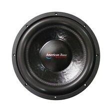 """American Bass XFL1544 15"""" Subwoofer Dual 4 Ohm Voice Coils; 200 Oz. Magnet"""