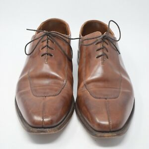 Allen Edmonds Men's Size 9 . 5 Brown Leather Lace Up Dress Shoes