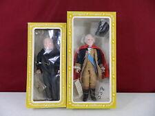 Effanbee #7901 George Washington #7641 Winston Churchill Dolls in Box