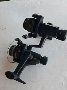 Vintage Zebco Crappie Classic Fishing Reel depth finder FREE SHIP one has repair
