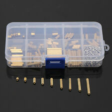 270pcs PCB M2 Female Threaded Brass Spacer Standoffs Screw Nut Assortment Set