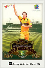 2007-08 Select Cricket Cards Man Of The Match MTM12 Glenn McGrath