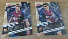 Topps Now Super Signings - Barcelona set Griezmann & De Jong - NEW