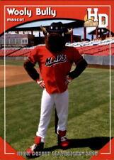 2016 High Desert Mavericks Grandstand #33 Mascot Wooly Bully - NM Baseball Card