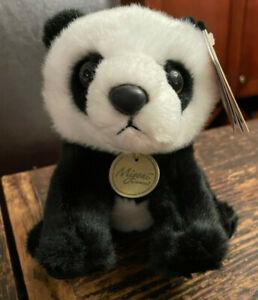 Aurora World Plush Miyoni PANDA 8 Inch Stuffed Animal Toy NWT