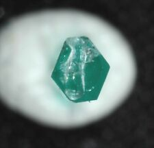 0.18 ct Transparent Emerald Crystal with nice termination  Muzo Mine, Colombia