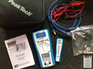 PeakTech 3365 2 in 1 LAN-Tester mit/with Digital-Multimeter